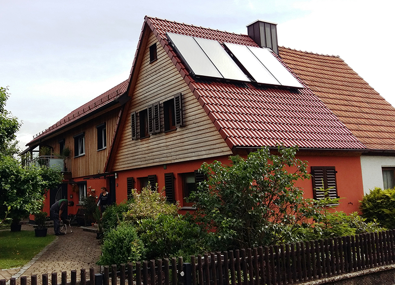 Dachumdeckungen Wohnhäuser