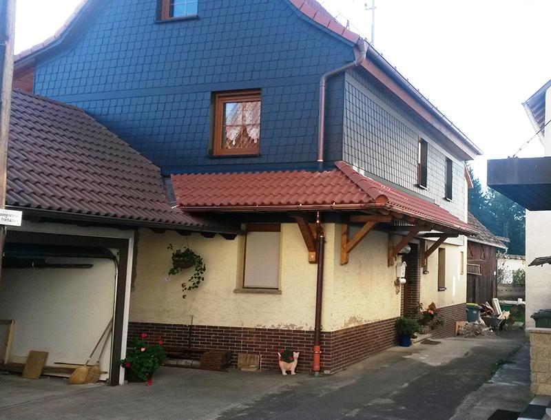 Vordächer und Hauseingangsüberdachungen