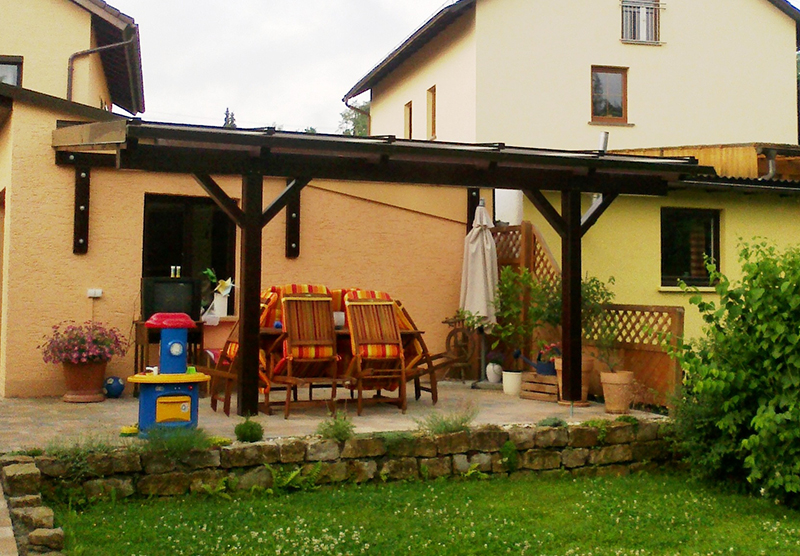 Balkon- und Terrassenüberdachungen